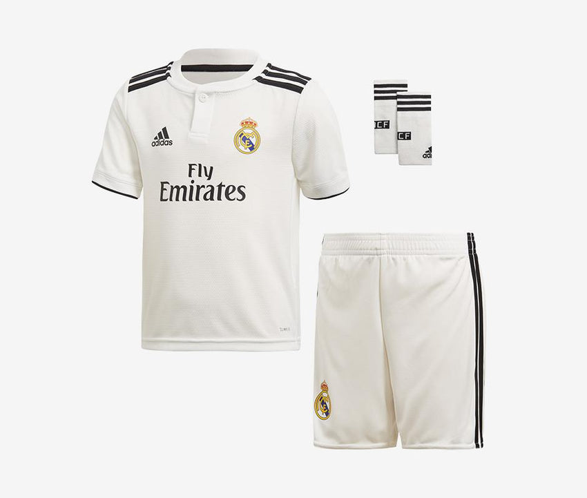 buy online 8df3c cbfe7 Real Madrid 2018-19 Home Mini Kit