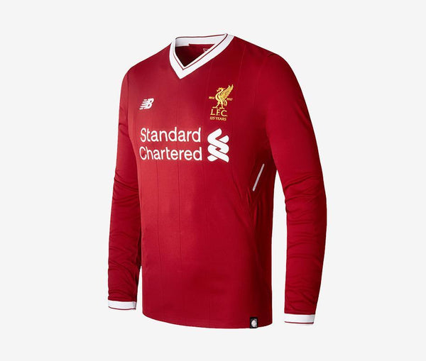 Liverpool 2017-18 Home Long-Sleeve Jersey