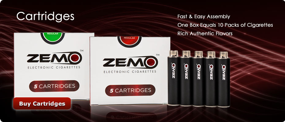 Electronic Cigarette Flavored Cartridges