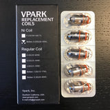 vPark Replacement Coils 5-PACK