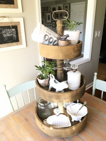 Shop Our Instagram Rustic Tiered Tray 1 18 16 Nested