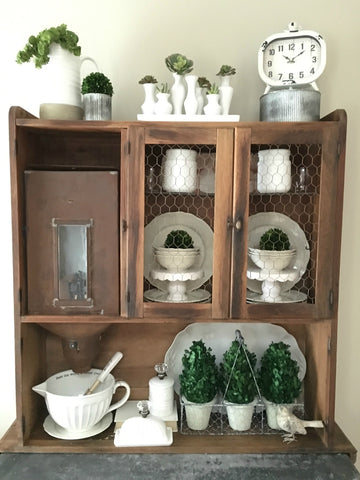 Shop Our Instagram {Hoosier Cabinet}