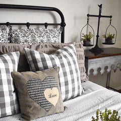 Farmhouse Bedroom Pillows