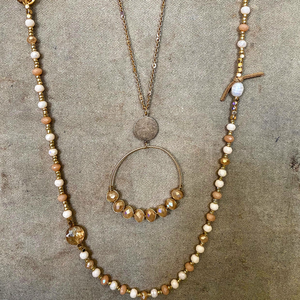 Circle Bead Necklace