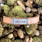 Leather Inspiration Bracelets