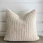 Ivory Knit Pillow