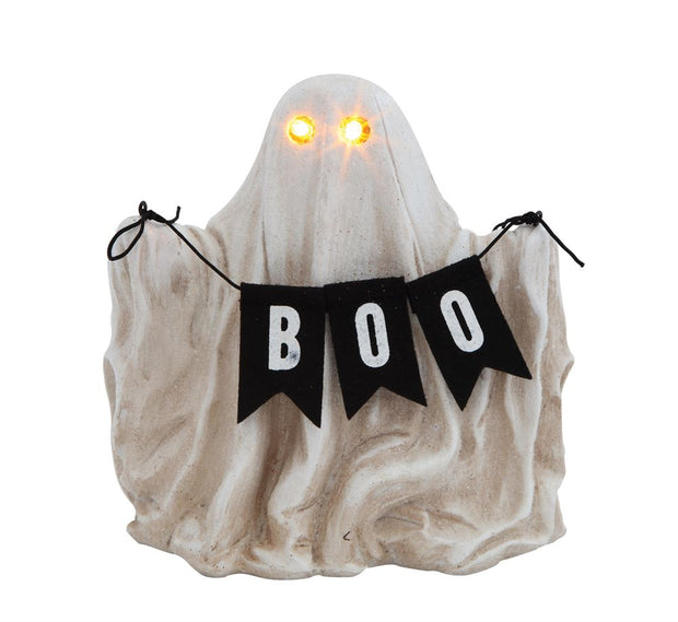 Lit Ghost Figurine