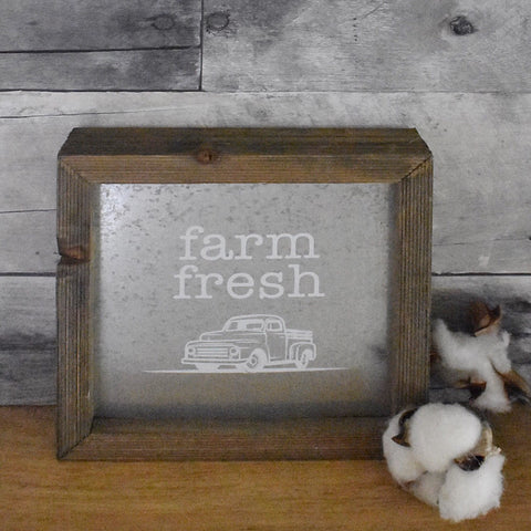 Farm Fresh Box Sign