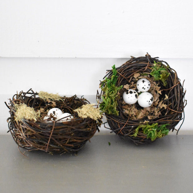 Mini Nest with Eggs