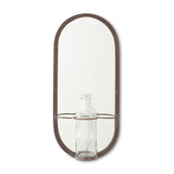 Mirror with Bottle Vase