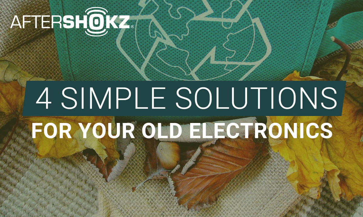 Earth Day - 4 Simple Solutions For Your Old Electronics