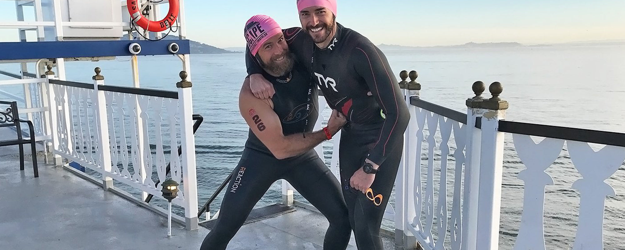 AfterShokz Ambassador Dan Makes The Escape from Alcatraz
