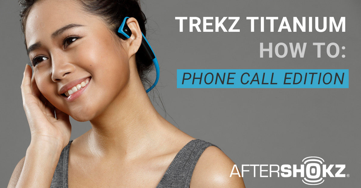 How To Take And Make Phone Calls With Titanium Headphones
