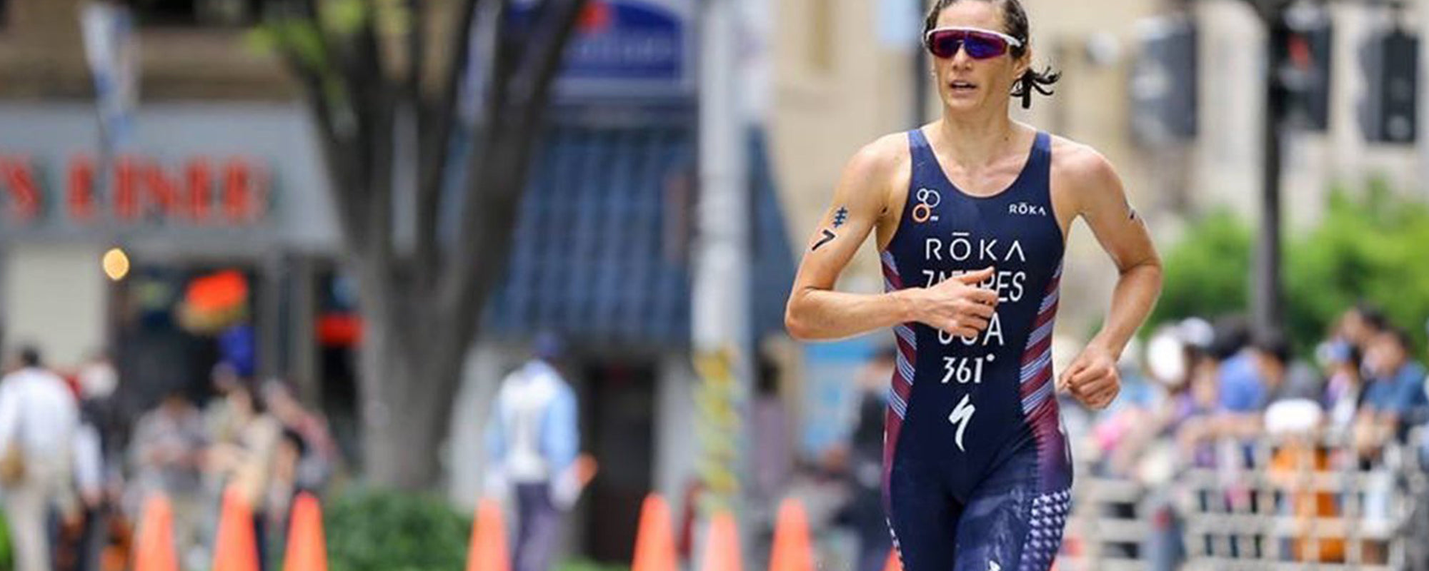 Q&A with World #1 Ranked Triathlete, Katie Zaferes