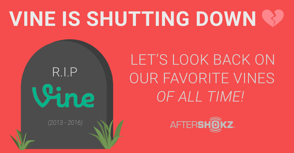 Vine Is Shutting Down: Let's Look Back On Our Favorites!
