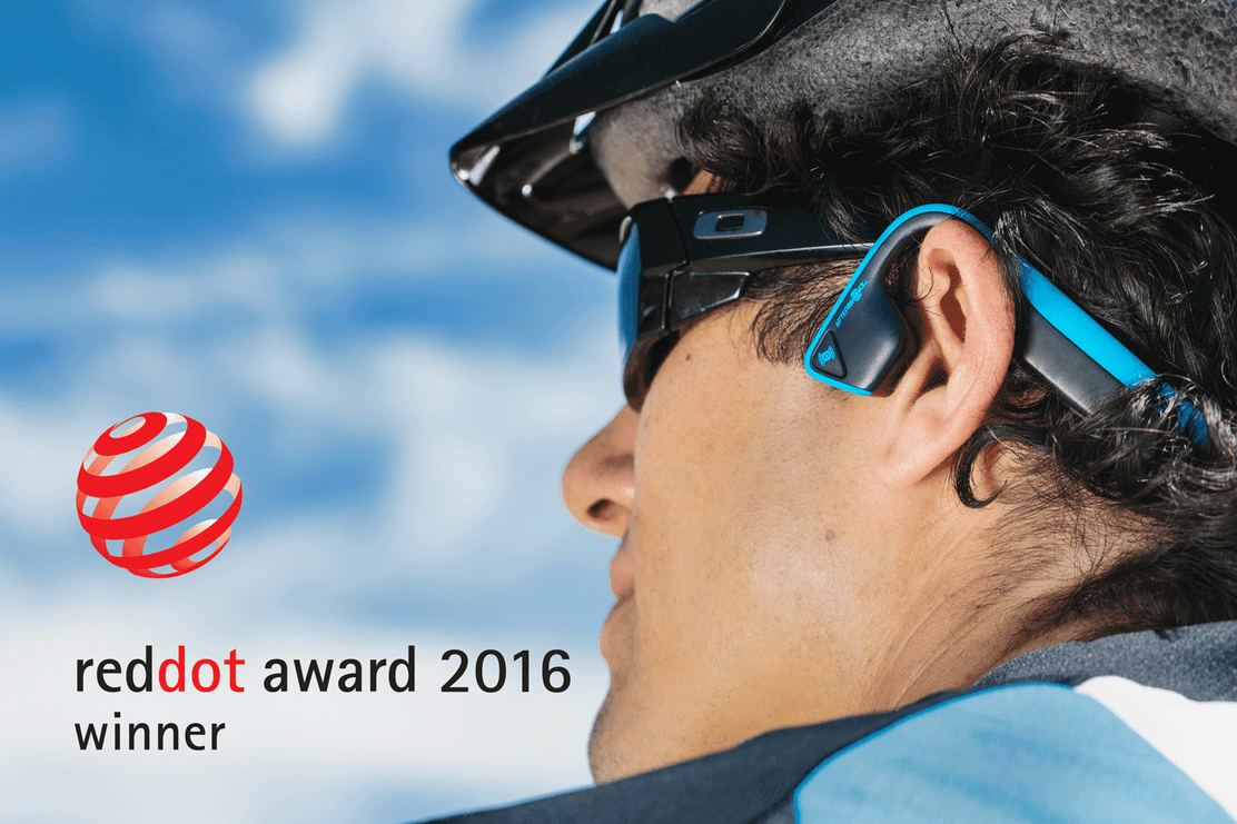 AfterShokz Honored with Prestigious International Red Dot Product Design Award