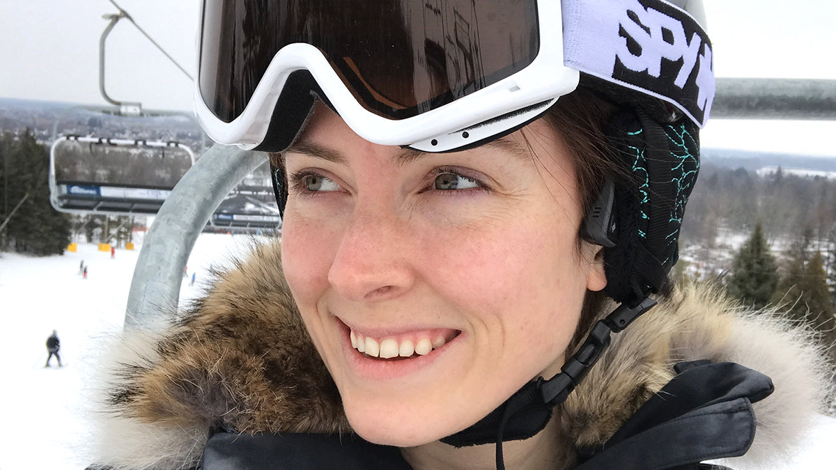 Canadian ShokzStar Megan Hits The Slopes With AfterShokz