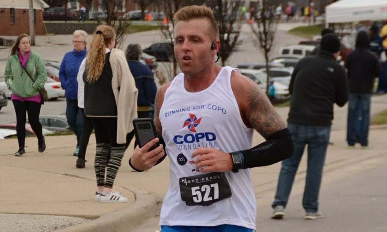 Justin Daniels On Running For COPD Awareness