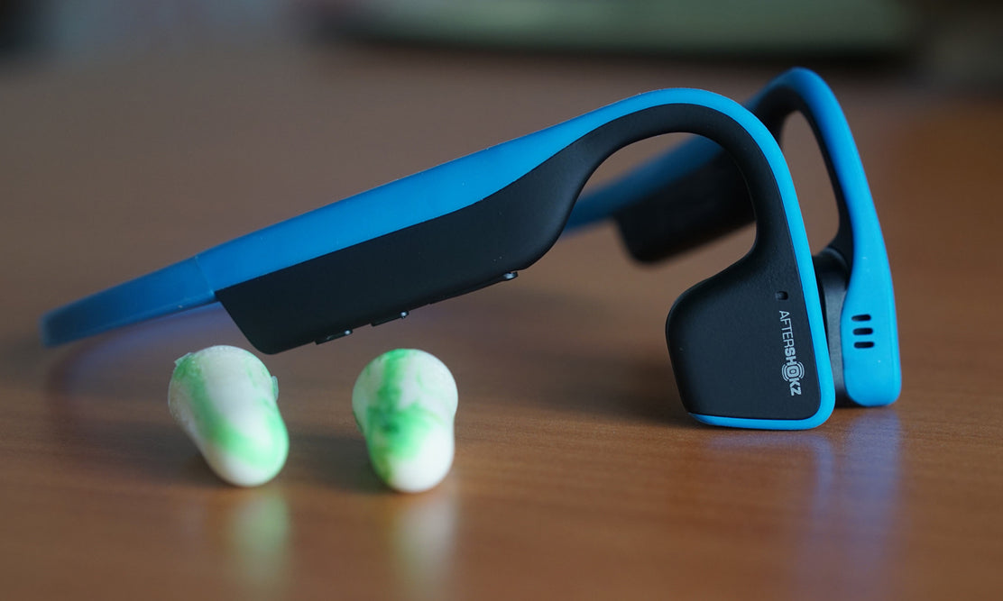 Using Trekz Titanium with Earplugs