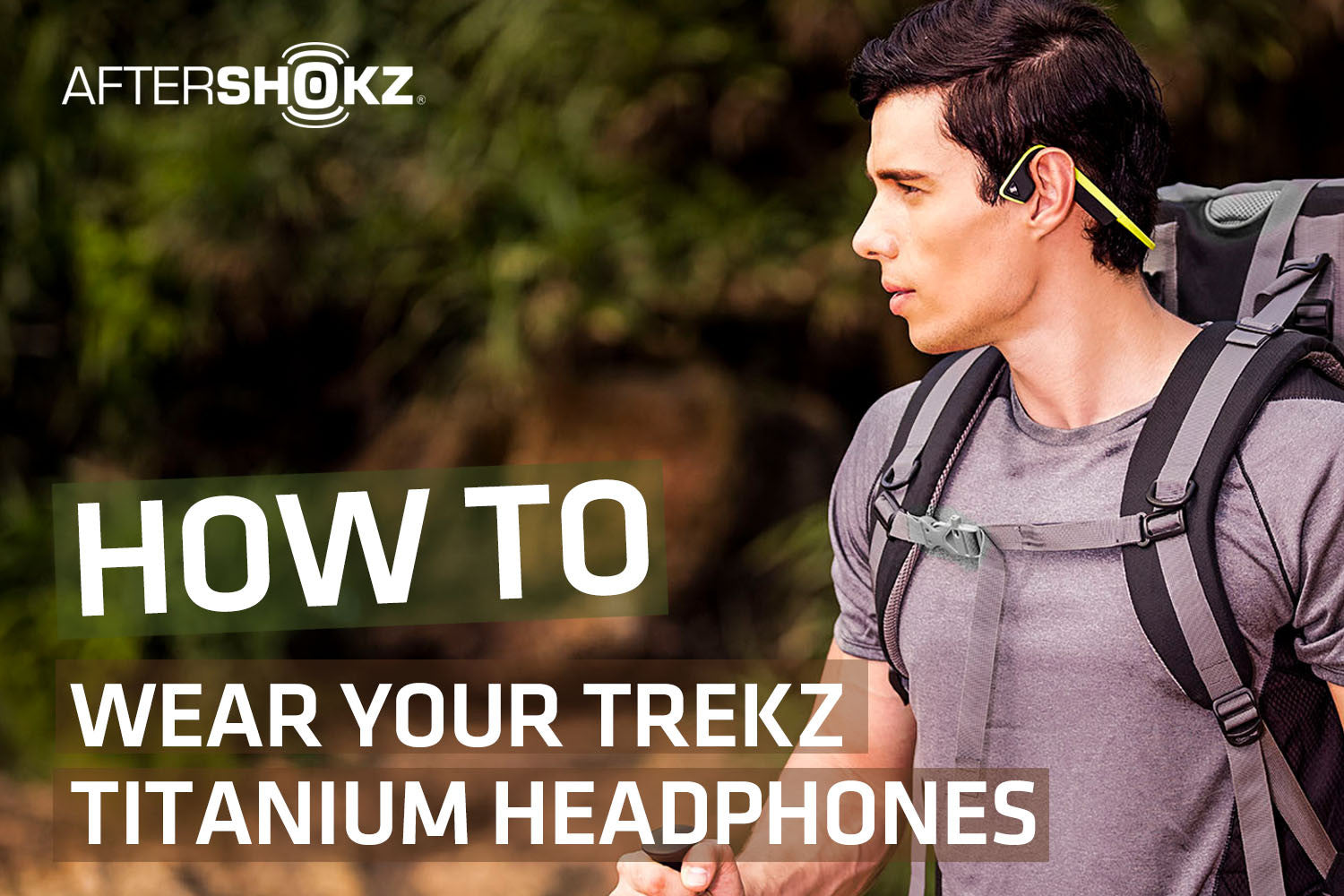 How to Properly Wear Your Titanium Headphones