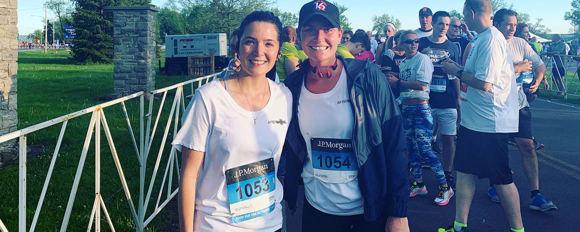 Team AfterShokz Takes on the J.P. Morgan Corporate Challenge