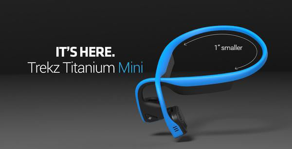 Ask and you shall receive. Introducing: Trekz Titanium Mini!