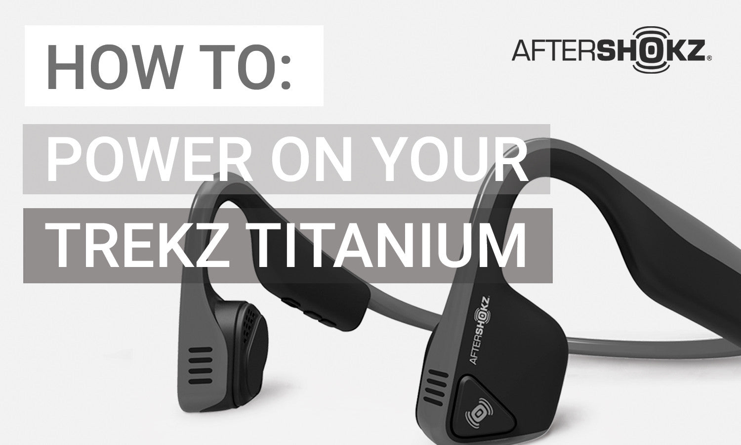 How To Power On Your Titanium Headphones