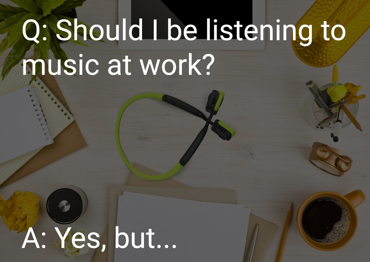 When To Play Music in the Workplace