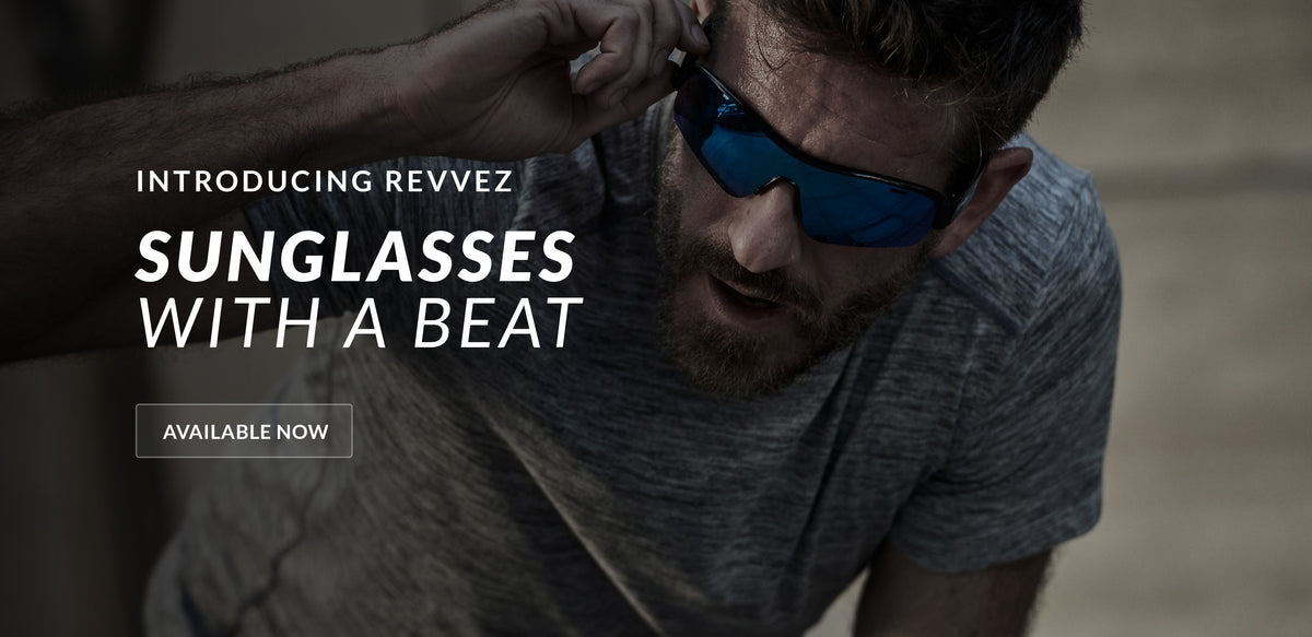 Introducing Revvez -- Sunglasses with a beat. Available now!