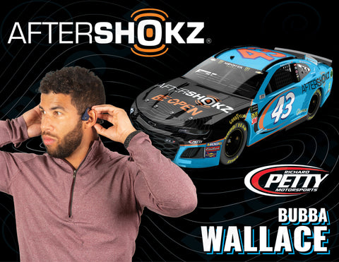 Bubba Wallace Here Card