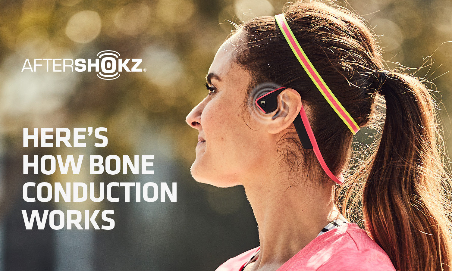 Here's How Bone Conduction Headphones Work | AfterShokz