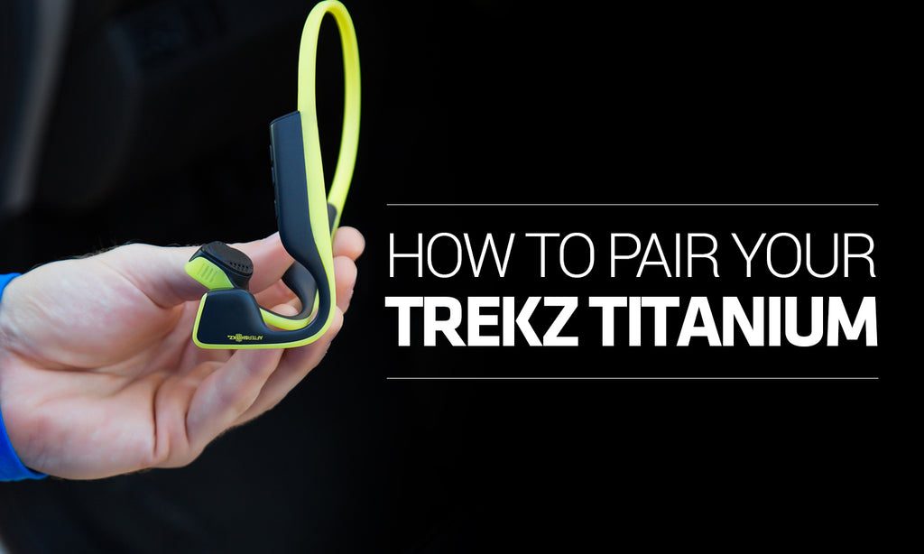 How to pair your trekz titanium