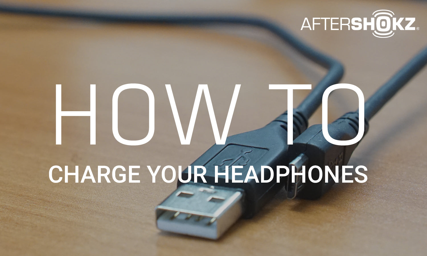 How To Charge Your Headphones Aftershokz Micro Usb Wiring Diagram
