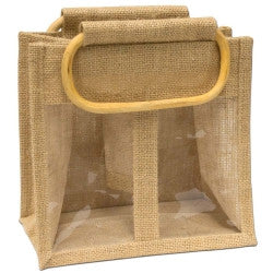 Jute Bag - 2 Window