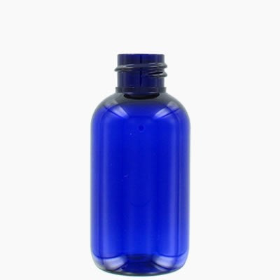 Blue Plastic Bottle - Various Sizes