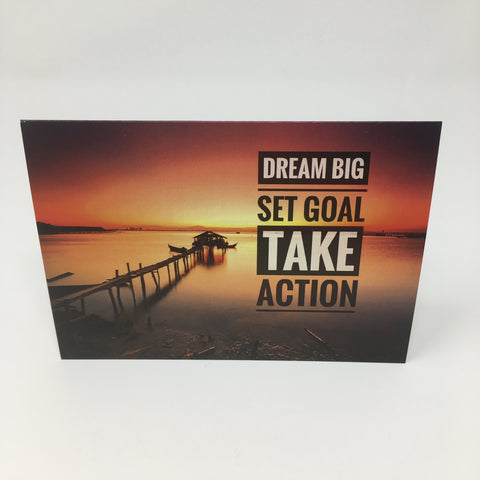 Inspirational Scenic Card - Dream Big