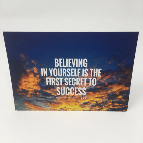 Inspirational Scenic Card - Believing in Yourself