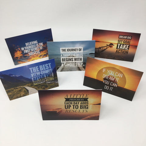 Inspirational Scenic Card - A Mix Pack of 6