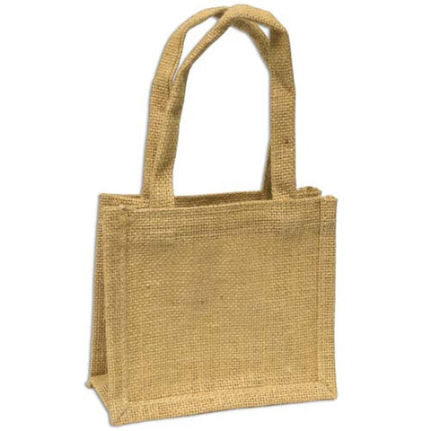 Jute Bag - Mini Bag Medium - Various Colours
