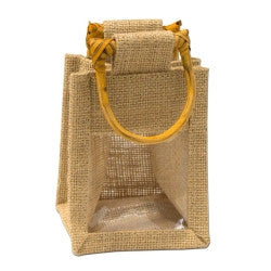 Jute Bag - Small 1 Window