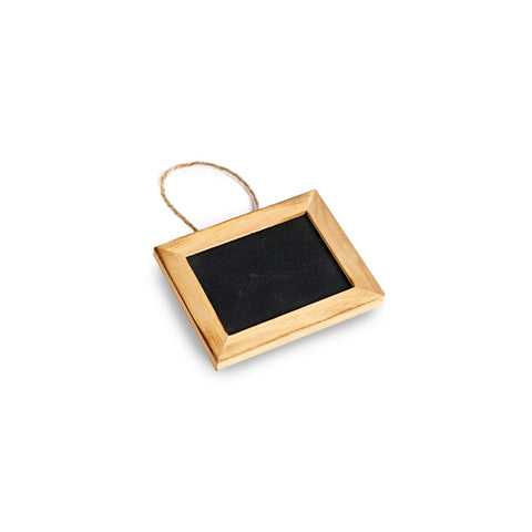 Chalkboard Tag With Wooden Frame