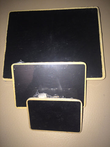 Chalkboards various sizes