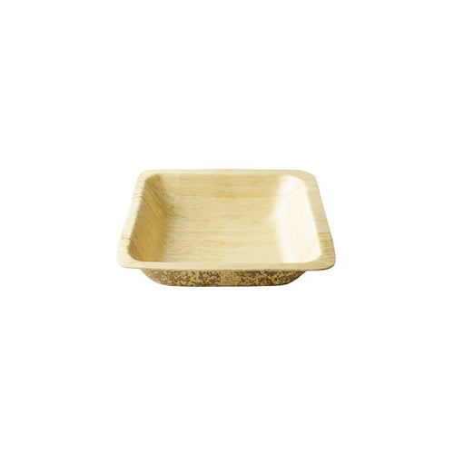 16oz Square Bamboo Disposable Bowl