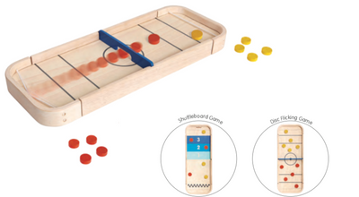 2-in-1 Shuffleboard Game