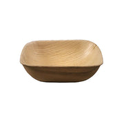 5 Inches Square Palm Leaf Bowl
