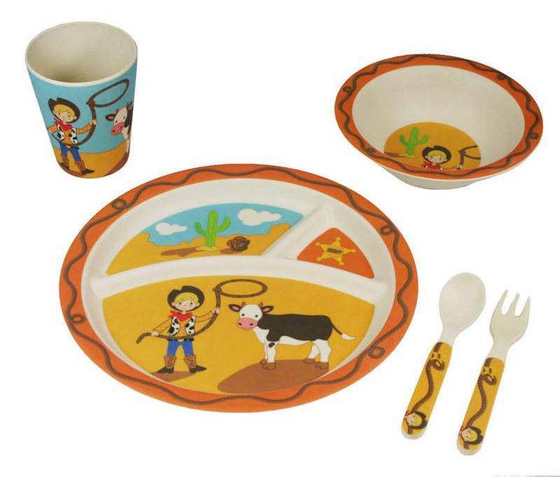 Bamboo Kids 5-Piece Dinner Kit