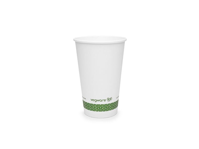 Vegware White Hot Cup