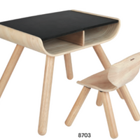 Table and Chair- Black