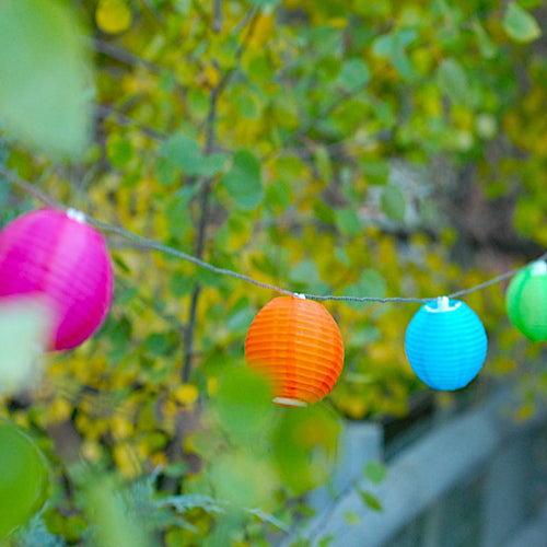 Soji Mini Solar Nylon String Lights