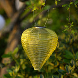 Soji Silk Effects Teardrop Solar Lanterns